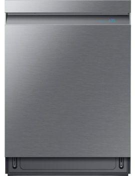 "Linear Wash 24"" Top Control Built In Dishwasher With Stainless Steel Tub   Fingerprint Resistant Stainless Steel by Samsung"