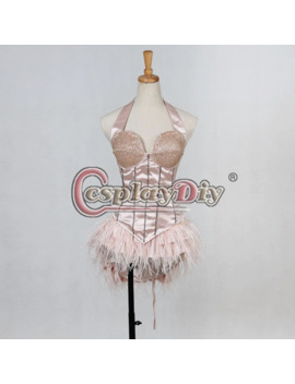 Cosplaydiy Burlesque Christina Aguilera But I Am A Good Girl Dress Adult Women Sexy Hallowen Cosplay Costume Outfit Custom Made by Ali Express.Com