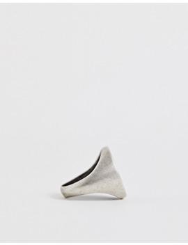 Кольцо печатка из нержавеющей стали Steve Madden by Asos