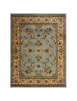 King Collection Mahal Oriental Seafoam 8 Ft. X 10 Ft. Indoor Area Rug by Sweet Home Stores