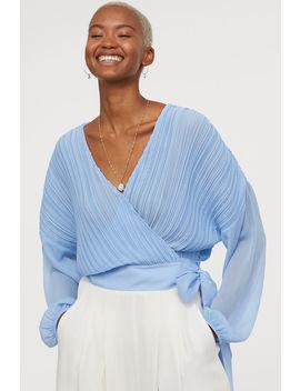Plissert Bluse by H&M