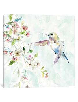 """I Canvas """"Hummingbird Iv"""" By Carol Robinson by I Canvas"""