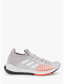Adidas Pulse Boost Hd Women's Running Shoes, Grey One/Ftwr White/Hi Res Coral by Adidas