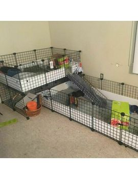 Pet Pen Bunny Cage Dogs Playpen Indoor Out Door Animal Fence Puppy Guinea Pigs by Jyyg