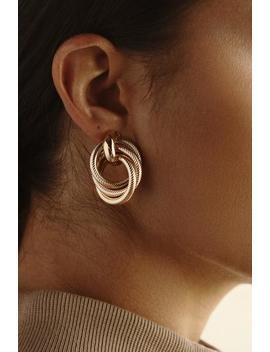 Gold She's It Earrings by Jluxlabel