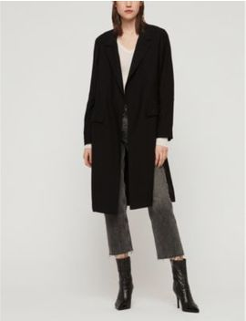 Aleida Crepe Duster Coat by Allsaints