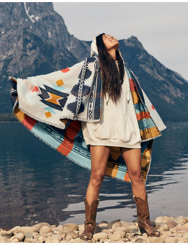 Aerie Western Blanket by American Eagle Outfitters
