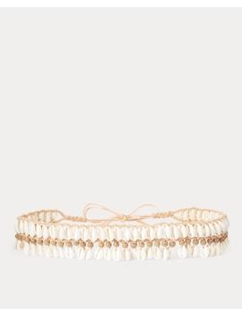 Cowrie Shell Belt by Ralph Lauren