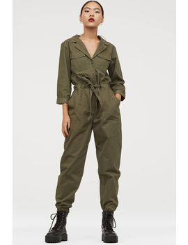 Boilersuit Van Katoenen Twill by H&M