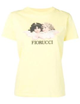 Camiseta Con Logo Angels by Fiorucci