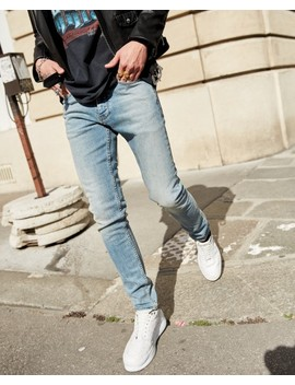 Slim Fit Vintage Blue Jeans by The Kooples