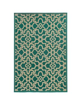 Tommy Bahama Area Rugs: Seaside 3361 L Green Diamonds Curves Contemporary Carpet by Tommy Bahama