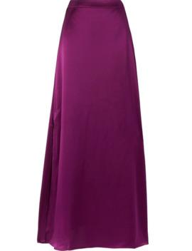 Amelia Silk Charmeuse Maxi Skirt by J.Crew