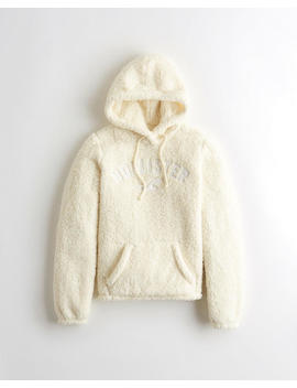 Camo Sherpa Hoodie by Hollister