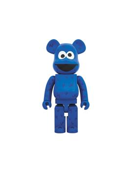 Bearbrick X Sesame Street Cookie Monster 1000% Blue by Stock X