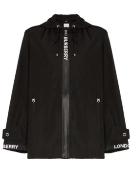 Everton Logo Panelled Jacket by Burberry