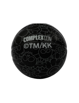 Takashi Murakami Complex Con Skull & Flower Basketball Black by Stock X