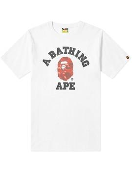 A Bathing Ape Colour Camo College Tee by Bape's®