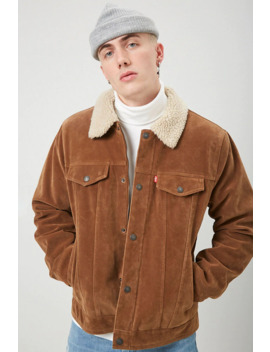 Levis Faux Suede & Shearling Jacket by Forever 21