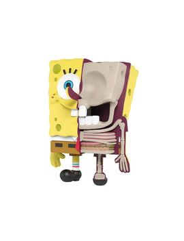 Jason Freeny X Nickelodeon Spongebob Hidden Dissectibles Spongebob Figure Multi by Stock X