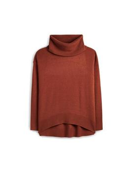 Brown Roll Neck Jumper by Primark