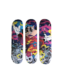 Matt Gondek Growing Pains 3 Skateboard Deck Set Multi by Stock X