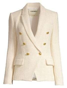 Kenzie Tweed Blazer by L'agence