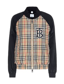 Vintage Check Bomber Jacket by Burberry