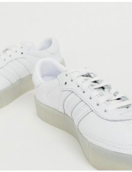 Adidas Originals – Samba Rose – Sneaker In Dreifach Weiß by Asos
