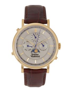 Portland Gold Tone Watch by Vivienne Westwood