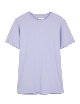 Lilac Organic Cotton T Shirt by Colorful Standard