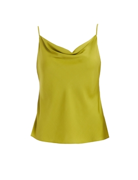 Alice Green Silk Satin Cami Top by Wt R