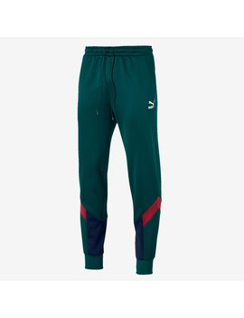 Puma Italy 19/20 Iconic Mcs Track Pant   Ponderosa Pine/Peacoat by Pro Direct Soccer