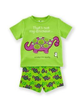 That's Not My Baby Dinosaur Pyjama Set   Green by Big W