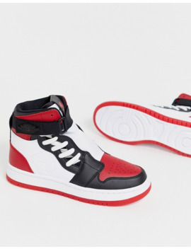 Nike Jordan 1 Nova High Red Sneakers by Nike