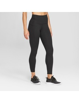 "Women's Studio High Waisted Leggings 25""   C9 Champion® Black by C9 Champion"