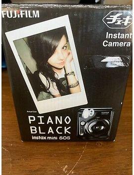 Fujifilm Instax Mini 50 S Piano Black Instant Camera by Ebay Seller
