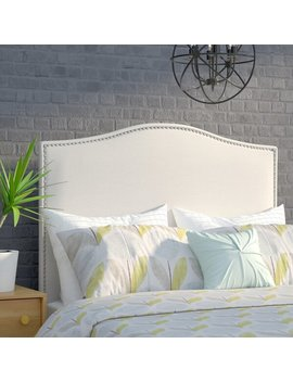 Zoe Upholstered Panel Headboard by Joss & Main