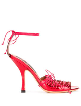 Lace Up Stiletto Sandals by Y/Project