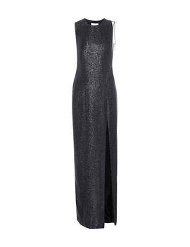 Dusk Crescent Lamé Gown by Galvan