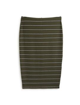 Jersey Stripe Midi Skirt by Primark