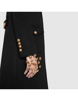 Wool Coat With DoubleG by Gucci