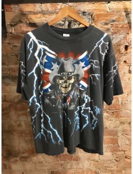 90s Single Stitch American Thunder by Vintage  ×