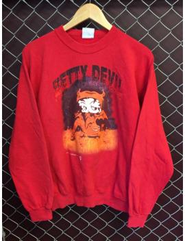 1994 Betty Boop Devil Crewneck 90s by Vintage  ×