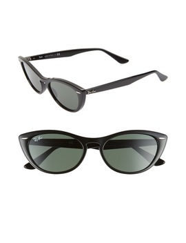Nina 54mm Cat Eye Sunglasses by Ray Ban