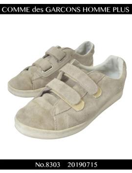 Comme Des Garcons Homme / Velcro Leather Sneaker / 8303   0715 58.5 by Comme Des Garcons Homme Plus  ×