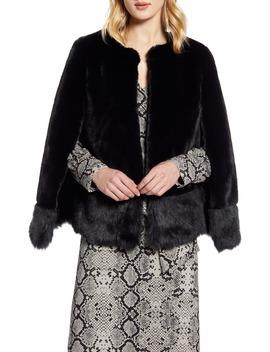 Faux Fur Cape by Halogen®