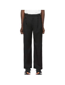 Black Two Way Trousers by Ader Error
