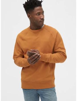 heavyweight-crewneck-sweatshirt by gap