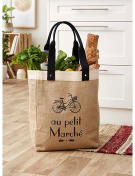 Au Petit Marché Tote Bag by Danica